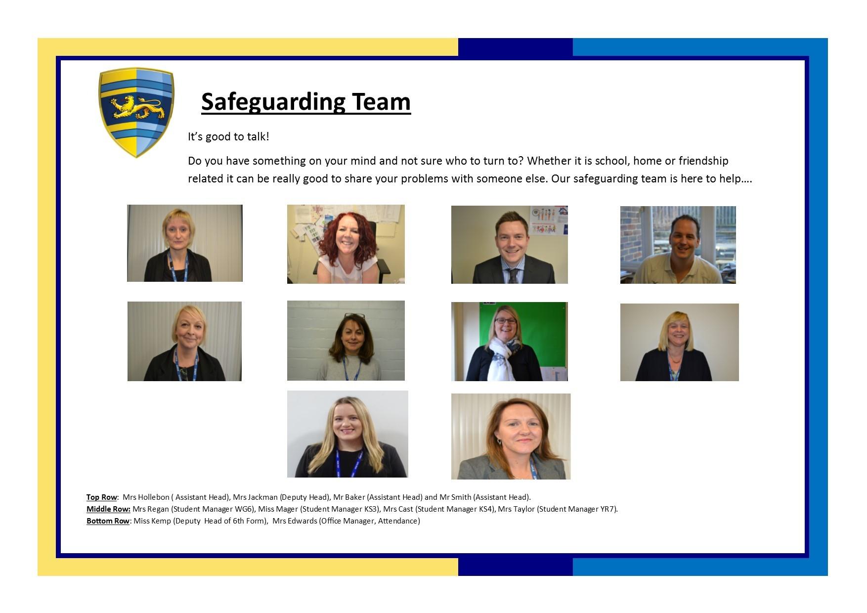 Safeguarding team