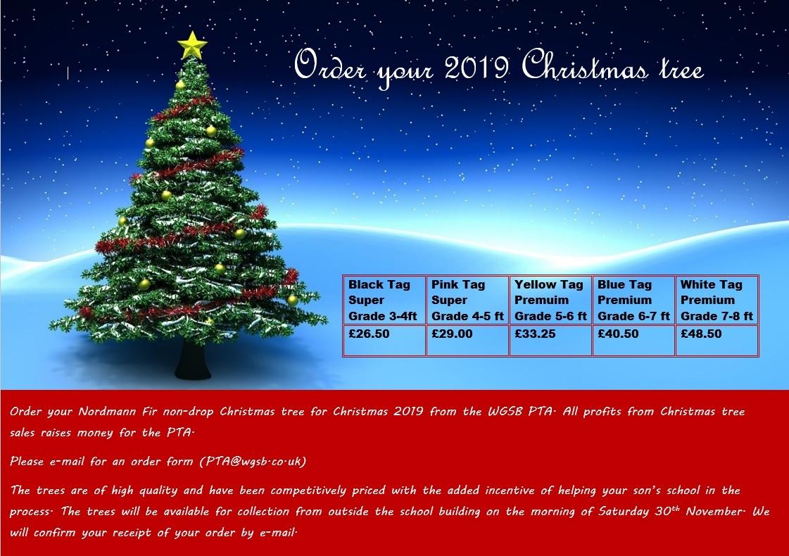 Pta christmas tree offer 2019