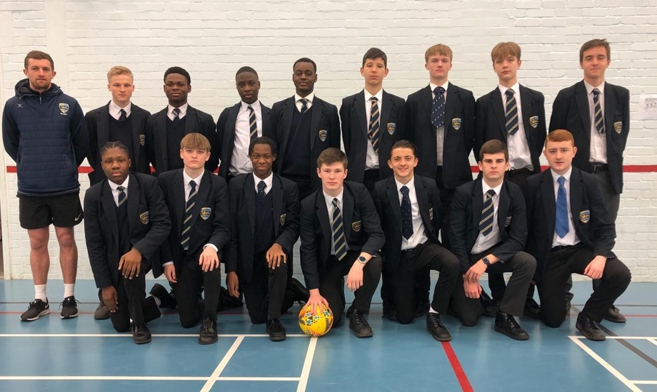Year 11 football team ksfa programme